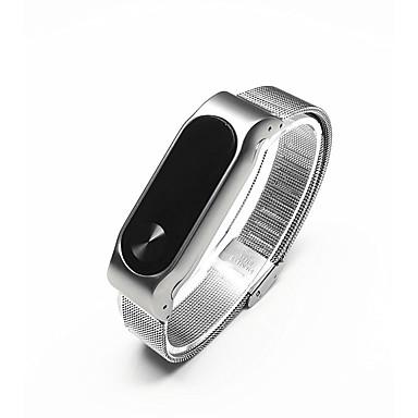 Klokkerem til Mi Band 2 Xiaomi Klassisk spenne Rustfritt stål Håndleddsrem