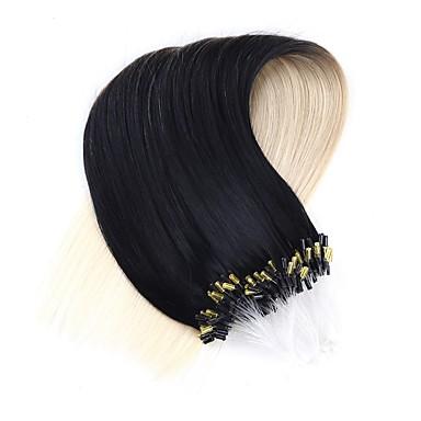 neitsi 20''50strands 1g / s anillo micro extensiones de enlaces de bucles de pelo 100% remy del pelo humano # T1-60