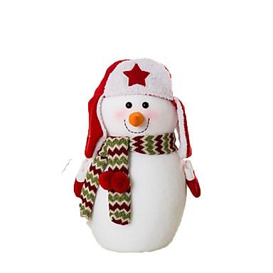 Lumiukko Joulukoristeet Sisustustarvikkeet Cartoon Muoti Korkealaatuinen Lovely Plyysi Tyttöjen Poikien
