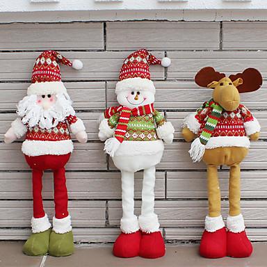 عطلة زينة رجل التلج / Santa تماثيل الكريسمس حزب / حداثة / عيد الميلاد المجيد 1PC