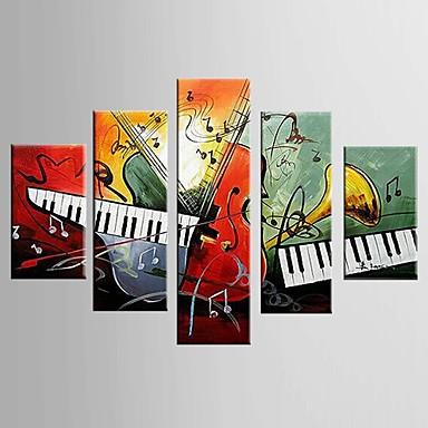 ハング塗装油絵 手描きの - 静物画 クラシック 近代の キャンバス 5枚