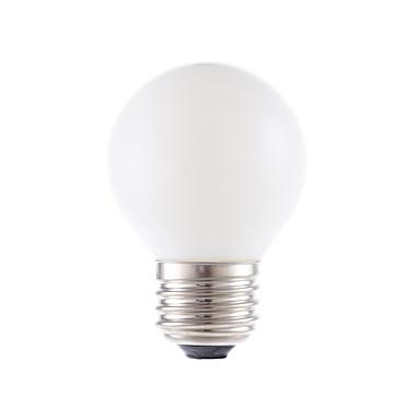 GMY® 1個 150lm E26 / E27 フィラメントタイプLED電球 G16.5 2 LEDビーズ COB 調光可能 温白色