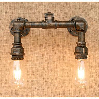 Rustikk / Hytte / Land Vegglamper Metall Vegglampe 110-120V / 220-240V 40W