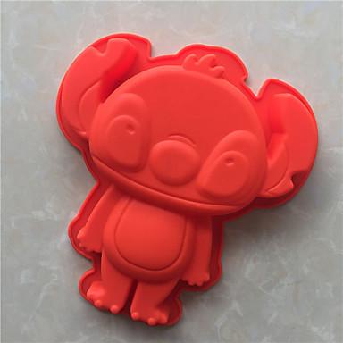 アイス チョコレート ピザ パイ Cupcake クッキー ケーキ パン Other シリコーン DIY 高品質 3D 焦げ付き防止 ベーキングモールド
