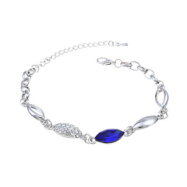 Dame Vedhend Armband Krystall Mote Europeisk Krystall Glass Smykker Til Bryllup Fest Spesiell Leilighet Bursdag Engasjement Avslappet