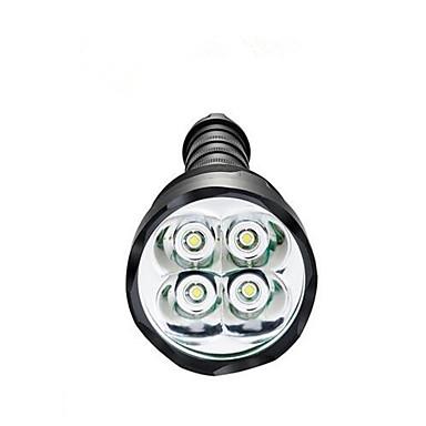 LED taskulamput LED 3800 lm 5 Tila LED Vedenkestävä Erityiskevyet High Power Himmennettävissä varten Telttailu/Retkely/Luolailu