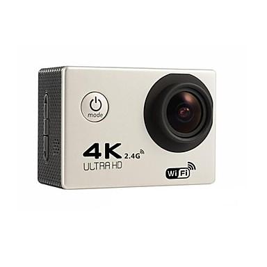 F60R Toimintakamera / Urheilukamera 16MP 4000 x 3000 Wifi Säädettävä Vedenkestävä Langaton 30fps 6X ± 2 EV 2 CMOS 32 GB H.264 Englanti
