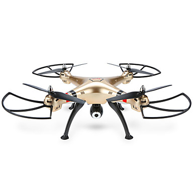 RC Drone SYMA X8HW 4CH 6 Axis 2.4G With HD Camera RC Quadcopter FPV / LED Lights / One Key To Auto-Return RC Quadcopter / Remote / Hover