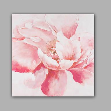 ハング塗装油絵 手描きの - 花柄 / 植物の クラシック 近代の キャンバス