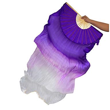 Dança do Ventre Acesssórios de Palco Mulheres Espetáculo Seda Franzido Vara