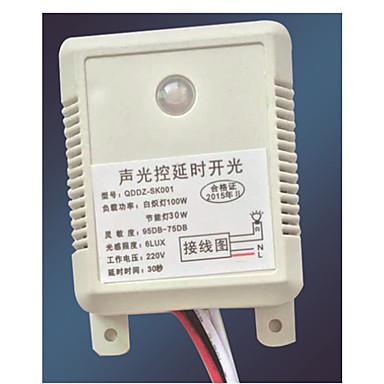 ホーム壁インテリジェントスイッチ/ LED音声起動スイッチ