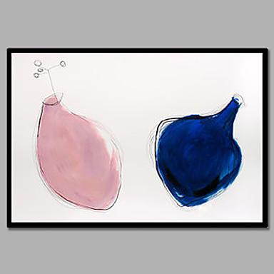 手描きの抽象的な/幻想的な壁の装飾ハングペイントの油絵、モダンな1パネルのキャンバスの油絵