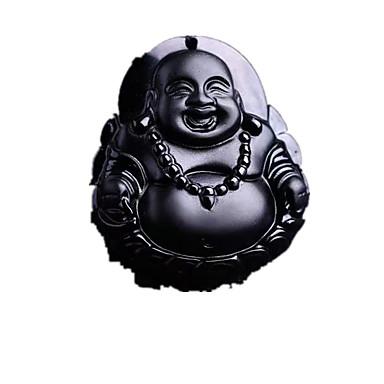 voordelige Herensieraden-Heren Amber Hangertjes ketting Religieus Amber Zilver Kettingen Sieraden Voor Dagelijks Causaal