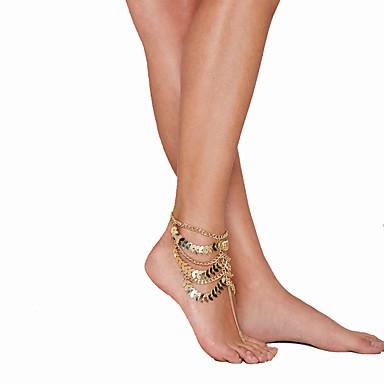 足の女性の鉄の結婚式の休暇