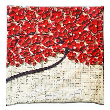 1 個 ベルベット 枕カバー,グラフィック 装飾