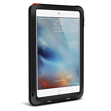 Etui Käyttötarkoitus Apple iPad Mini 4 Iskunkestävä Suojakuori Yhtenäinen väri Kova Metalli varten iPad Mini 4 Apple