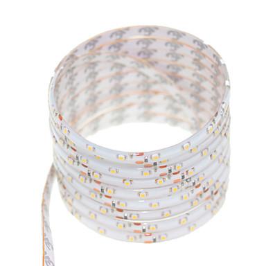 SENCART 5 m LED-es szalagfények 300 LED Meleg fehér / RGB / Fehér Távirányító / Cuttable / Tompítható 12V / 3528 SMD / IP68 / Vízálló