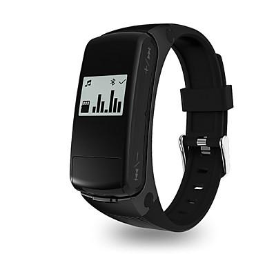 Pulsera inteligente para iOS / Android Monitor de Pulso Cardiaco / GPS / Llamadas con Manos Libres / Video / Audio Temporizador / Reloj Cronómetro / Seguimiento de Actividad / Seguimiento del Sueño