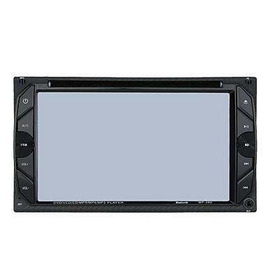 6.2 インチ 2 Din 800 x 480 Windows CE 6.0 カーDVDプレーヤー のために ユニバーサル - DVD-R/RW MP4