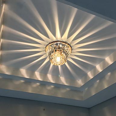 Taklys Varm hvit Kjølig hvit Krystall LED Mini Stil Pære inkludert 1 stk.