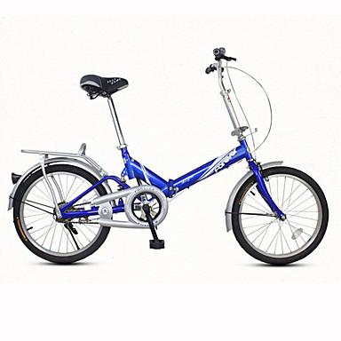 Bicicleta Dobrável Ciclismo 7 Velocidade 20 polegadas Freio em V Comum Dobrável Comum Aço