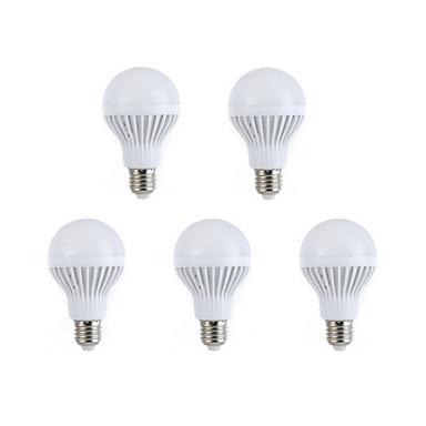 COSMOSLIGHT 264-288 lm E26/E27 LED 글로브 전구 A60(A19) 12 LED가 SMD 5630 장식 따뜻한 화이트 내추럴 화이트 AC 220-240V
