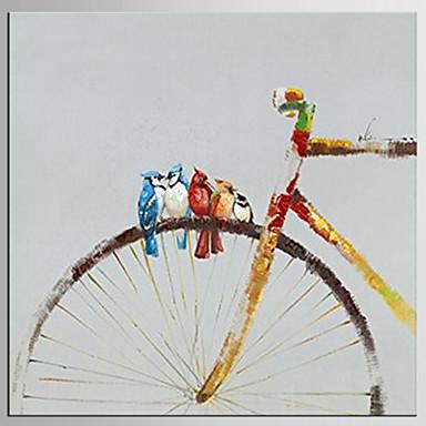 Hang-Painted öljymaalaus Maalattu - Pop Art Klassinen Moderni Kangas