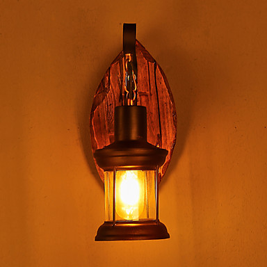 Rústico / Campestre / Vintage / Regional Luminárias de parede Metal Luz de parede 220V / 110V 40W