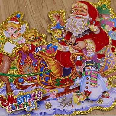 飾り Outdoor Nativity Scenes 動物 Snowmen Santa レジデンシャル コマーシャル 屋内 屋外Forホリデーデコレーション