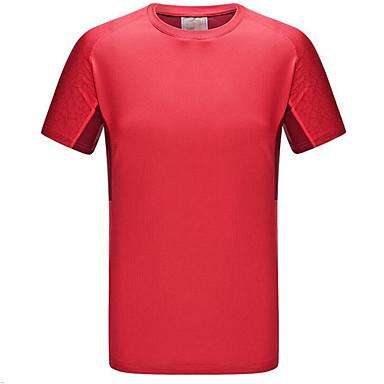 Naisten T-paita vaellukseen Nopea kuivuminen Tuulenkestävä Ultraviolettisäteilyn kestävä Hyönteisiä hylkivä Hengittävä Mukava T-paita