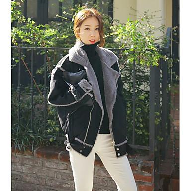 γούνινο παλτό πραγματική ποιότητα κουνέλι μεγάλο μέγεθος οι γυναίκες   39   S κοντό παλτό βαμβακιού 92a508edc9c