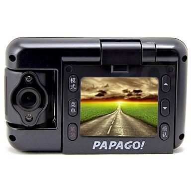 PAPAGO GoSafe100plus novatek 96650 Full HD 1920 x 1080 Auton DVR 2,0 tuumaa Kuvaruutu Aptina0330 3.5 MP 1/3