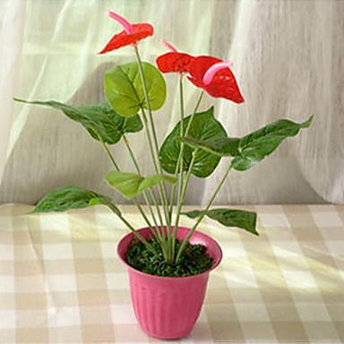 1 haara Muovi Others Kasvit Others Pöytäkukka Keinotekoinen Flowers