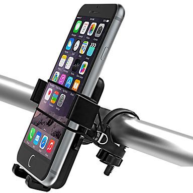 Montura de Teléfono para Bicicleta Ajustable Ciclismo / Bicicleta ABS Negro - 2pcs