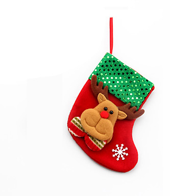 クリスマステーブルの装飾用の4本のクリスマス飾り