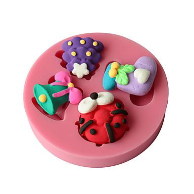 1 Silikoni paistopinnan for Cake / for Ice / Suklaa / for Leipä / for Cookie / for Cupcake / for Pie / for Pizza / Other Korkealaatuinen