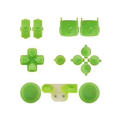 controlador de substituição kit de montagem caso definido para ps3 amarelo / azul / verde