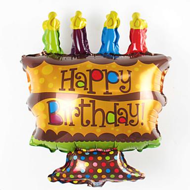 voordelige Ballonnen-Ballonnen Feest / Opblaasbaar Aluminium Jongens / Meisjes Geschenk
