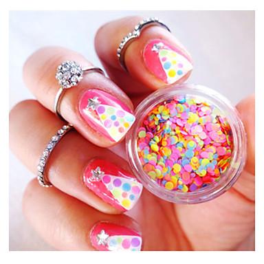 1 Nail Art Decoration tekojalokivi Pearls meikki Kosmeettiset Nail Art Design