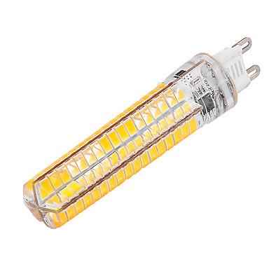 YWXLIGHT® 10W 1000-1200lm G9 LED-kornpærer T 136 LED perler SMD 5730 Mulighet for demping Dekorativ Varm hvit Kjølig hvit 85-265V