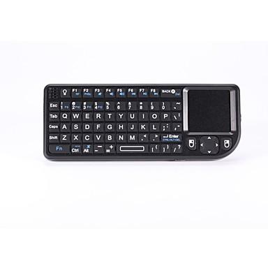 multimedie-tastatur trådløst tastatur med mus touchpad til android tv box / pc / IPTV