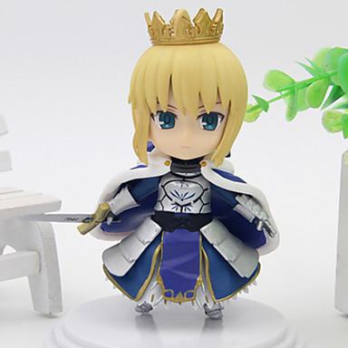 アニメのアクションフィギュア に触発さ コスプレ Saber PVC 10 cm モデルのおもちゃ 人形玩具