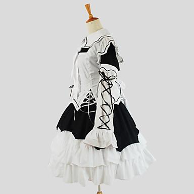 ゴスロリータ ロリータパンク プリンセス 女性用 ワンピース ドレス コスプレ 長袖