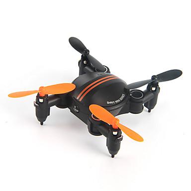 RC Drone SH1 4 Kanaler 6 Akse 2.4G Med HD-kamera Fjernstyrt quadkopter LED Lys / Auto-Takeoff / Feilsikker Fjernstyrt Quadkopter /