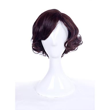 女性 人工毛ウィッグ キャップレス カーリー ベージュ コスプレ用ウィッグ ハロウィンウィッグ カーニバルウィッグ コスチュームウィッグ