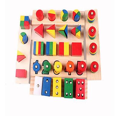 voordelige Rekenspeelgoed-Montessori lesmateriaal Bouwblokken Anti-stress Educatief speelgoed 14 pcs Schattig Noviteit Onderwijs Jongens Meisjes Speeltjes Geschenk / Hout