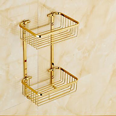 Zuhanyzó kosár Fürdőszobai kütyü / Ti-PVD Kortárs