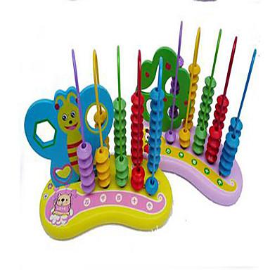 数字・計算系学習おもちゃ 知育玩具 おもちゃ アイデアジュェリー 円筒形 ウッド 1 小品 女の子 男の子 こどもの日 ギフト