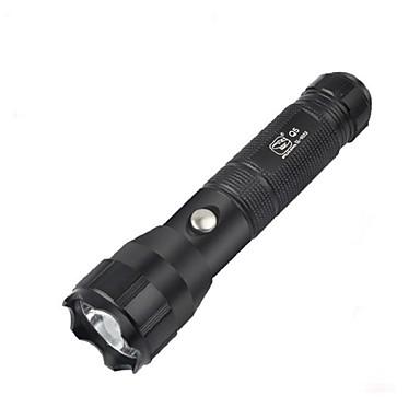 LED Taschenlampen Fahrradlichter leuchten LED 160-280Lm Lumen 4.0 Modus Cree Q5 1 x 18650 Batterie Wasserfest Super Leicht für Camping /