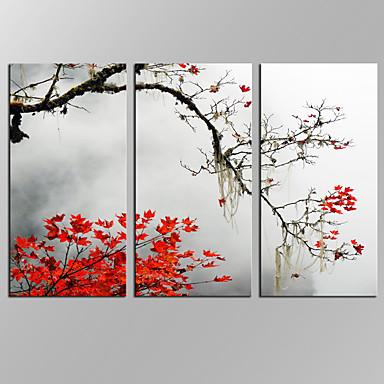 Abstraktit maisemakuvat Moderni,3 paneeli Kanvas Horizontal Painettu Wall Decor For Kodinsisustus